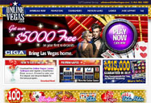 OnlineVegas.com Free Money Bonuses